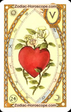 The heart, monthly Love and Health horoscope January Leo