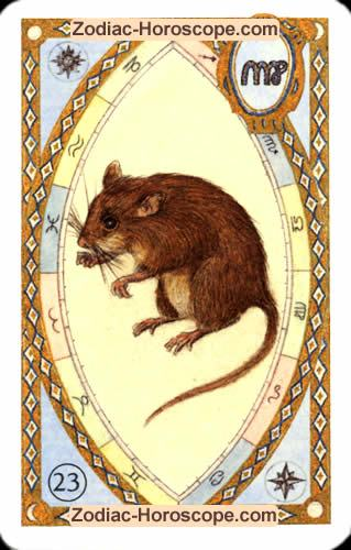 The mice Partnership love horoscope