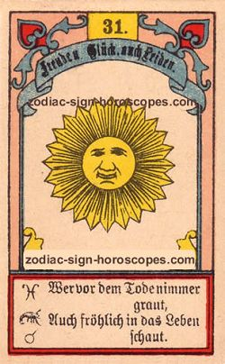 The sun, monthly Leo horoscope April